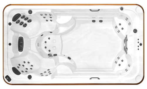Top view of the Okanagan All Weather Pool model