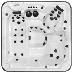 Top view of the Eagle model of Arctic Spas Hot Tub
