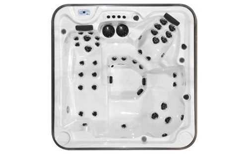 Top view of an Eagle hot tub