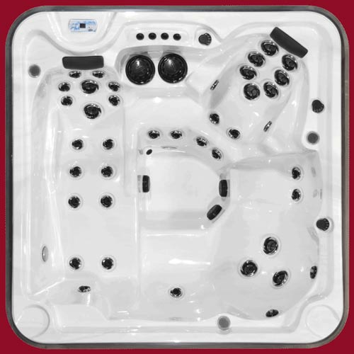 Top view of the Arctic Spas Hot Tub Eagle model