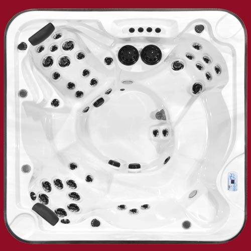 Top view of the Arctic Spas Hot Tub Totem model
