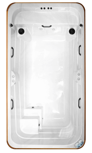 Top view of the Arctic Spas All Weather Pool Kingfisher