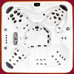 Arctic Spas top view of the Summit hot tub