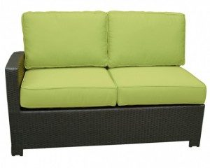 The Cabo Left Arm Facing loveseat sectional