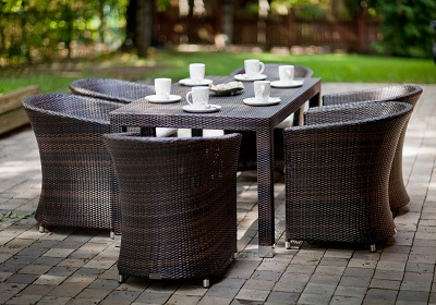 ALMOND DINING SET