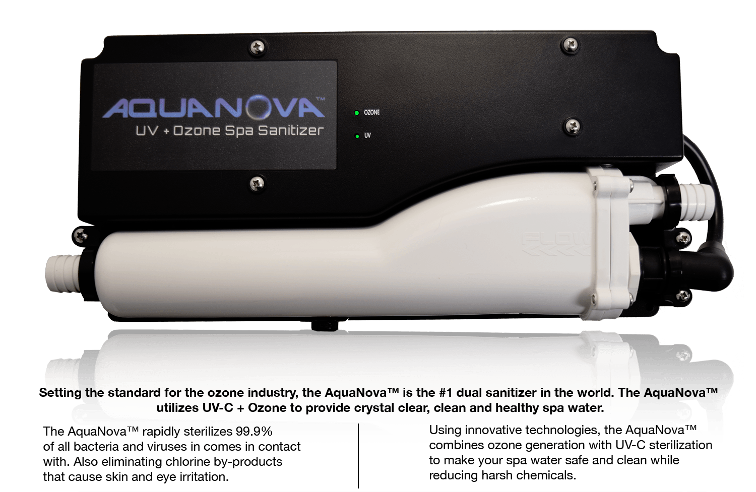 Aquanova UV/CD Ozonation