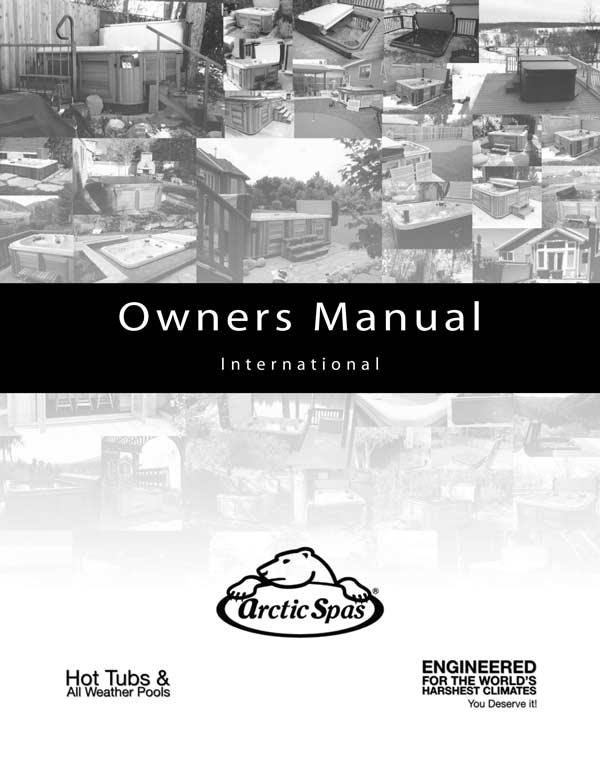 The front page of an Owners Manual