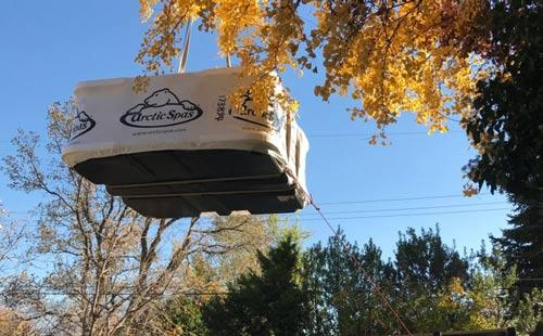 klondiker crane delivery!