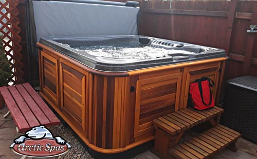 new arctic spa cub for the ricci-whaley family