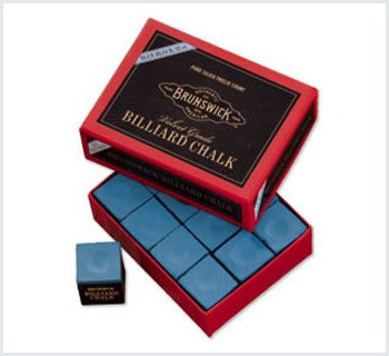 Billiard Chalk 144 piece, color blue