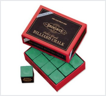 Billiard Chalk 144 piece, color Green