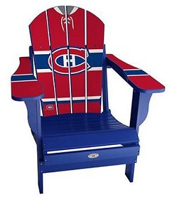 NHL TEAMS CHAIR