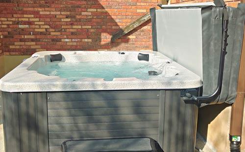 the falkner family family chose a new arctic spas® aurora