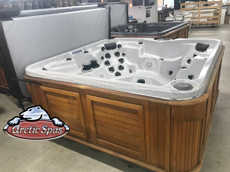 Arctic Spas refurbished Hot Tub Summit, side view
