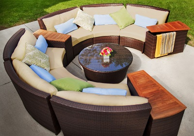 St. Lucia / Lotus Sectional furniture