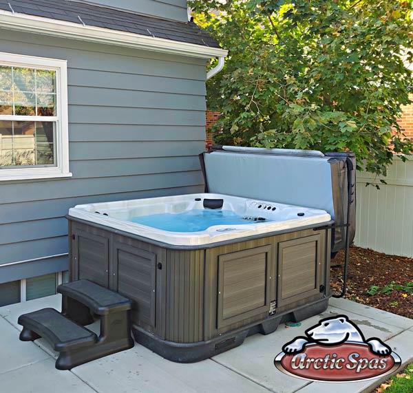 Quist's new hot tub arctic spas Totem