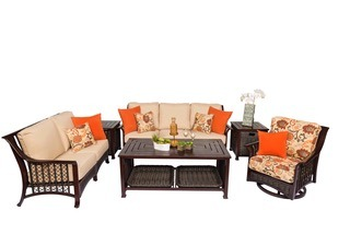 Rosewood Conversation Set