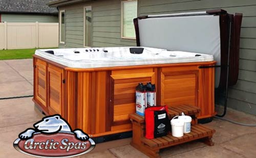 ross family love a new arctic spas summit