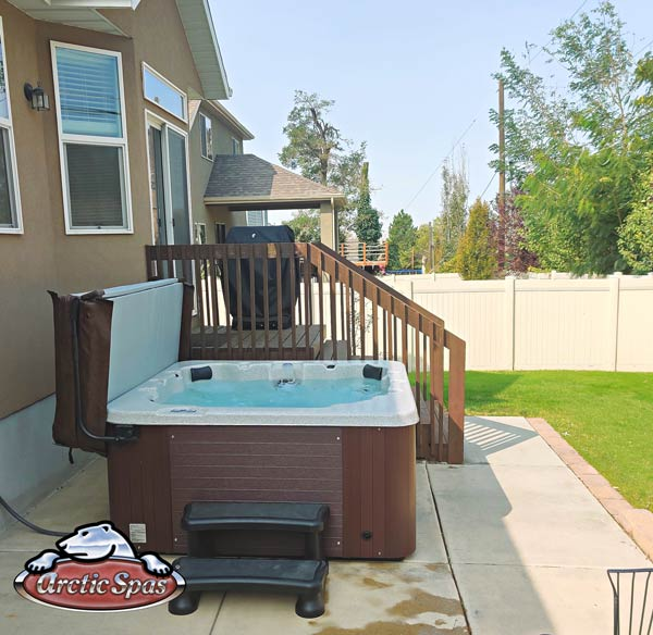 Rupps new hot tub arctic spas Aurora