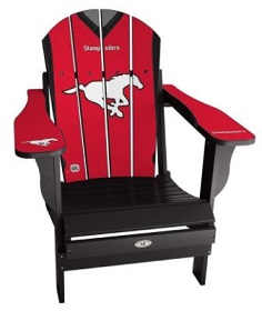CFL TEAMS SPORTS CHAIR