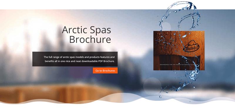 Arctic Spas Brochure