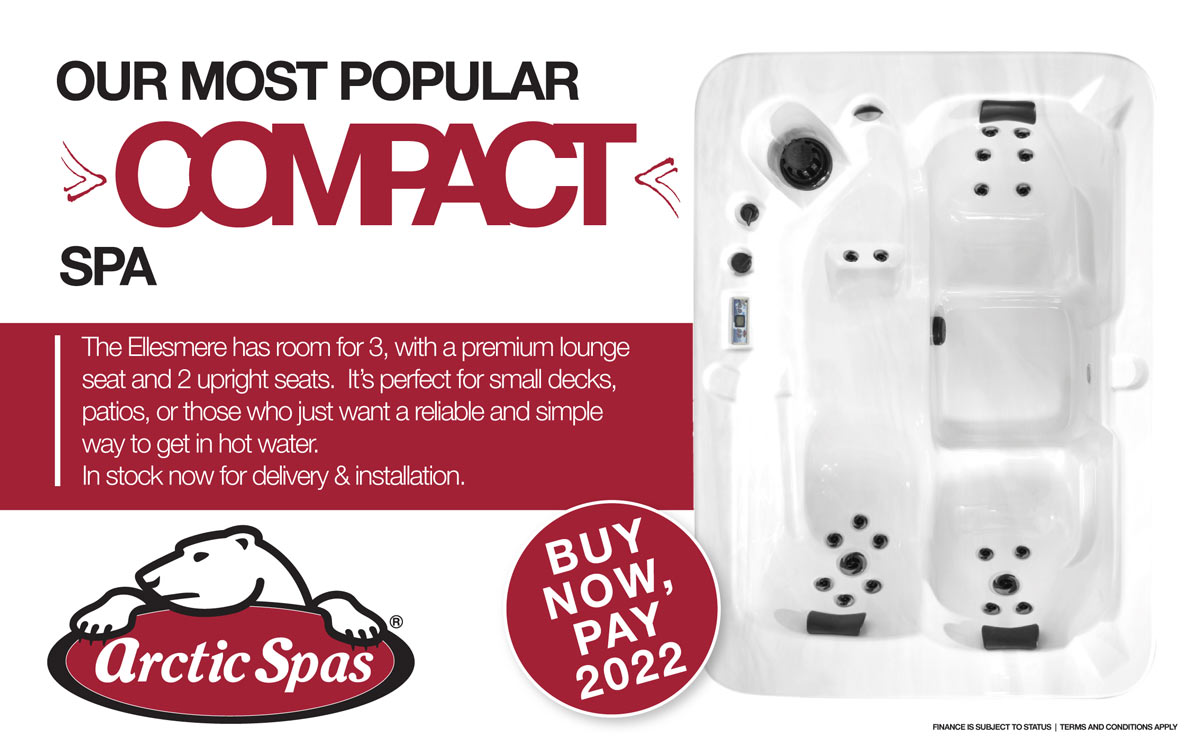 The Ellesmere - Our most popular compact spa