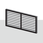 Extra Adjustable Louver Privacy Panels