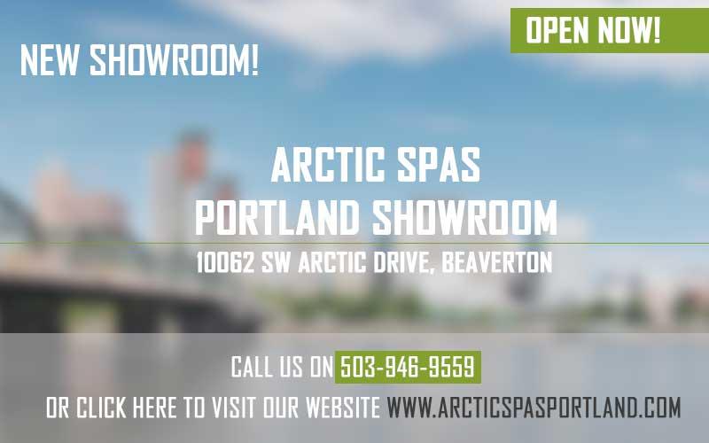 New Arctic Spas Portland Showroom