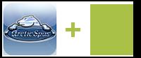 arcticspas logo plus android logo