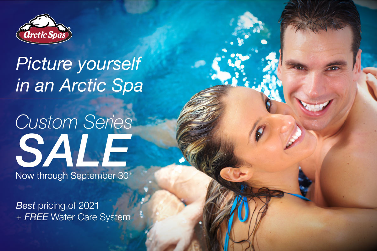 Picture yourself in an Arctic Spa