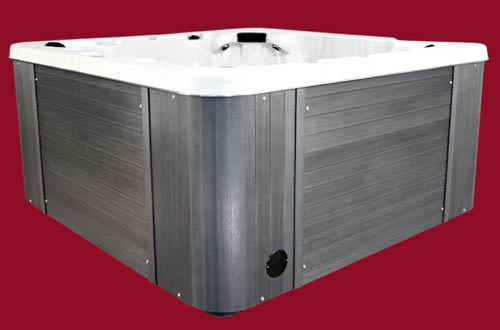 Side view of the Arctic Spas Hot Tub Aurora model