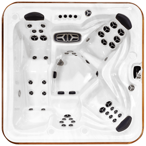 Top view of the Arctic Spas Cub signature hot tub