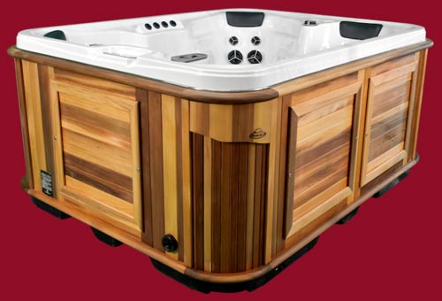 Side view of the Arctic Spas Hot Tub Arctic Fox model