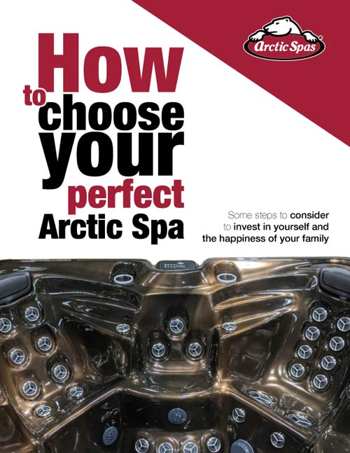 arcticspas how to choose your spa letter page 1