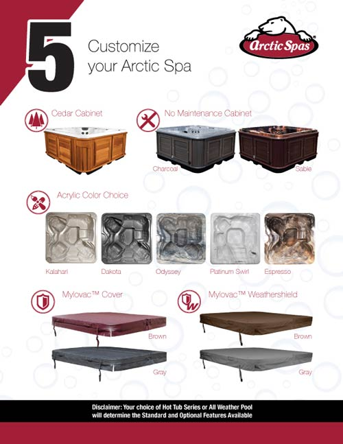 arcticspas how to choose your spa letter page 7