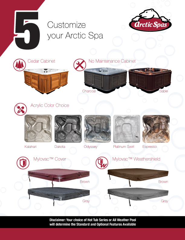 5 Customize your Arctic Spa