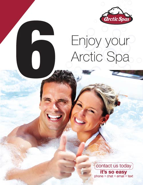 arcticspas how to choose your spa letter page 8