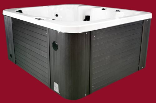 Side view of the Arctic Spas Hot Tub Husky model