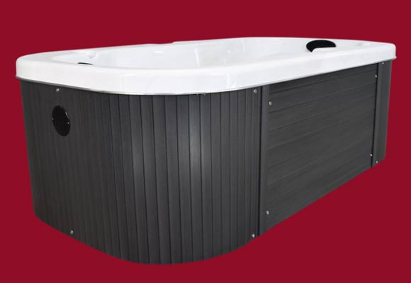 Side view of the Arctic Spas Hot Tub Otter model