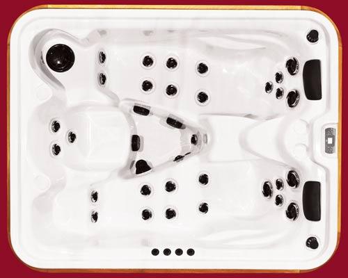 Arctic Spas Hot Tub, Timberwolf model
