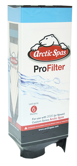 Pro filter for Progressive Smart Filtration in Arctic Spas