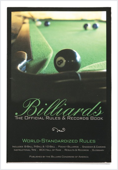 Billiards - the official rules and records book