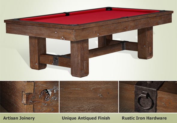 The Merrimack Pool Table