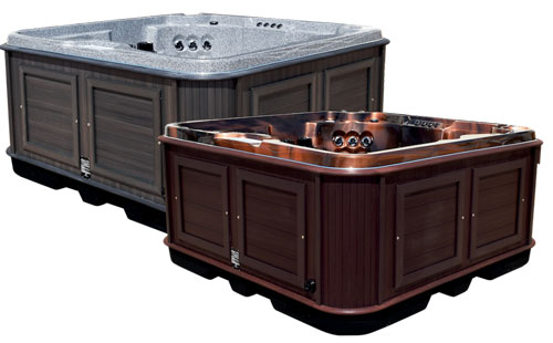 Arctic Spas no maintenance cabinets