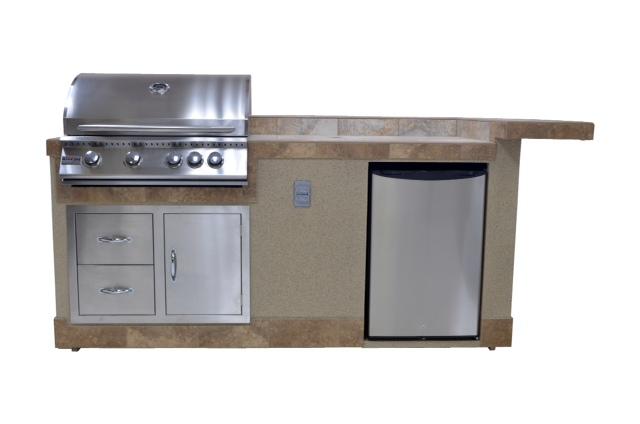 outdoor 6' Standard (Natural Gas & Propane) kitchen