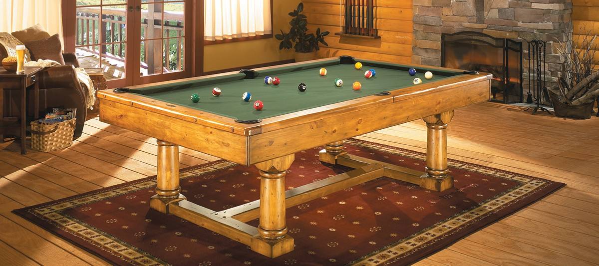 The Park Falls Pool Table