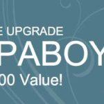 free upgrade for spaboy! worth $2000!